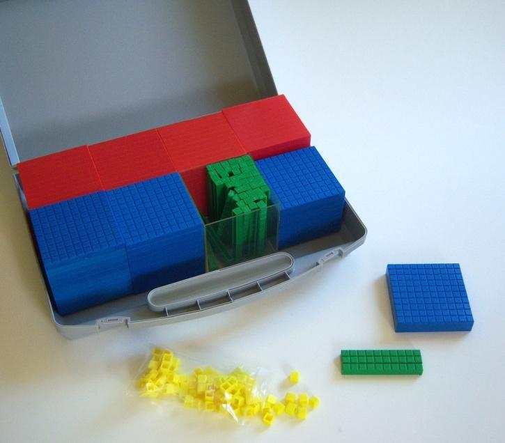 Dezi-Grundschul-Klassensatz, 184 Teile im Koffer