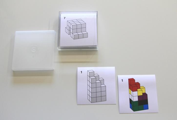 Karteikarten (24 Stück)  für SOMA-Würfel