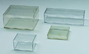 Klarsichtdose H, Kunststoffkasten, 60x50x30 mm