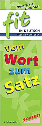 FIT in Deutsch - Lesen & verstehen: Vom Wort zum Satz