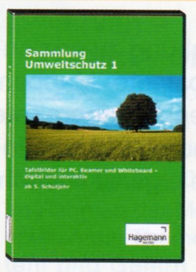Interaktive Tafelbilder Sammlung Umweltschutz 1, Schullizenz