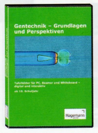 Interaktive Tafelbilder Gentechnik, Schullizenz