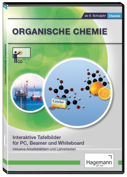 Interaktive Tafelbilder Organische Chemie, Schullizenz
