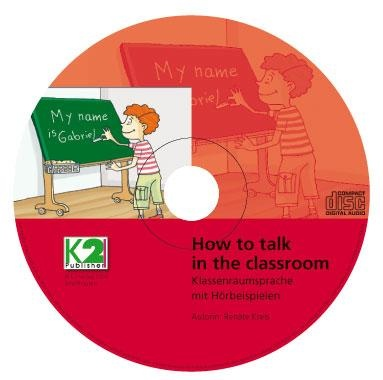 Multimedia-CD  -How to  talk in the classroom- , Frühenglisch