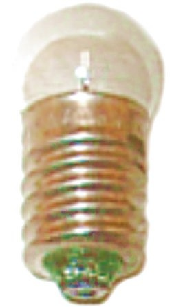 Glühlampe E10, 3,5V/0,2A, klar, 10er Pack