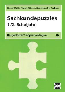 Sachkundepuzzles - 1./2. Klasse