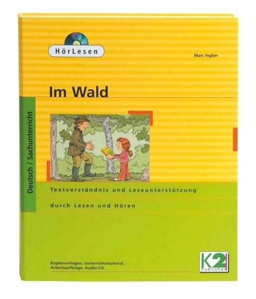 HörLesen: Im Wald, 1 Hörbuch als Audio -CD, 12 -seitiges Lesehef