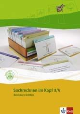 Programm Mathe 2000, Basiskurs Größen, 3./4. Schuljahr, Sachrechenkartei