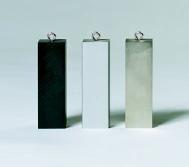 Dichtebestimmungs- Körper, gleiches Volumen, (3 Stück)