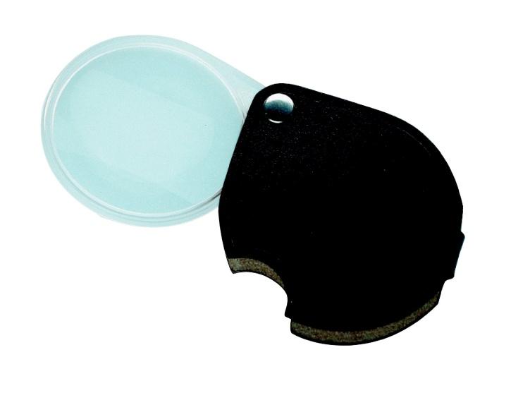 Taschenlupe ECONOMIC, 3,5fache Vergrößerung, 60mm Durchmesser, b
