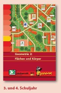Max Lernkarten,  Geometrie 2 - Flächen und Körper