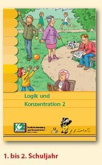 Max Lernkarten,  Logik und Konzentration 2