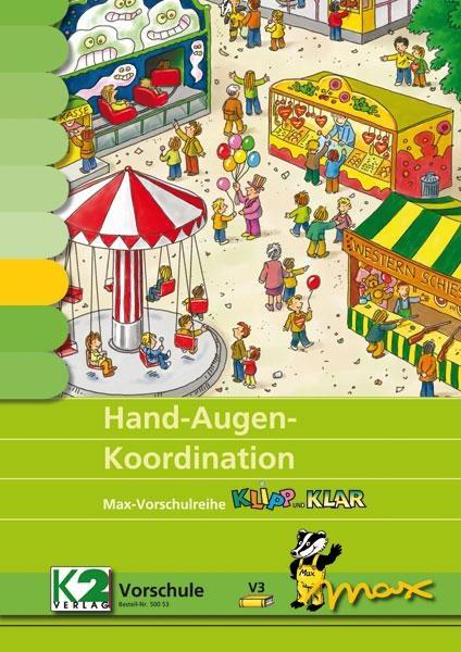 Max-Lernkarten: Hand-Augen-Koordination