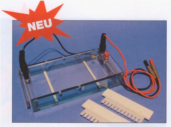 Elektrophorese - Kammer, horizontal