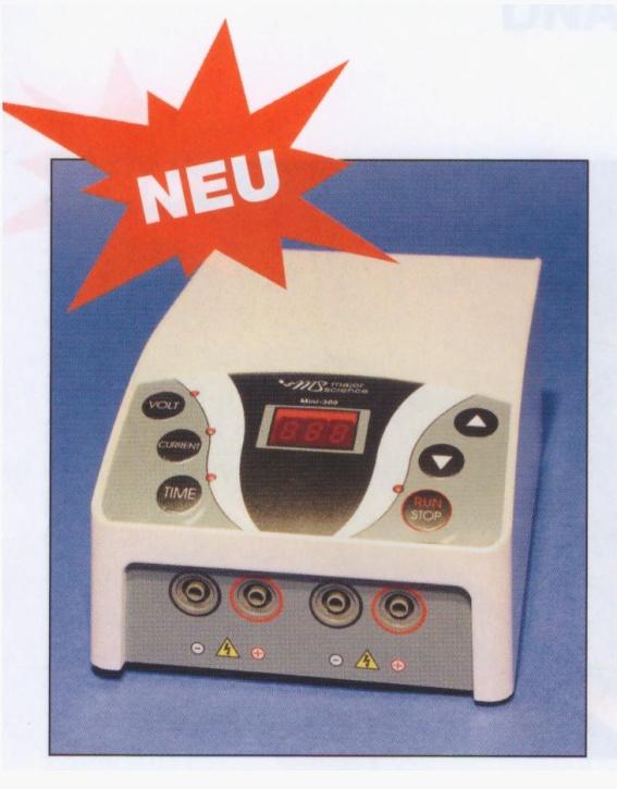 Elektrophorese Stabilisiertes Netzgerät Mini Pro 300 V Power Supply