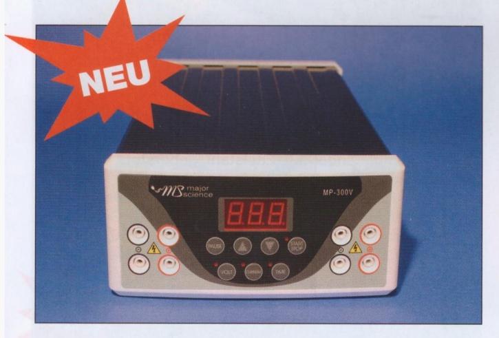 Elektrophorese Stabilisiertes Netzgerät MP 300 V Power Supply
