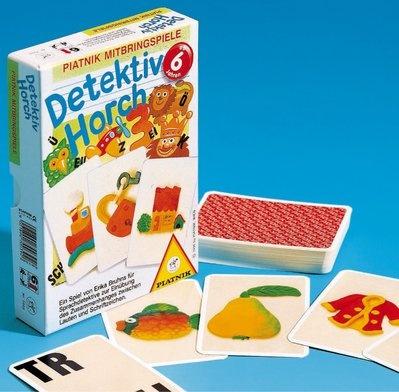Detektiv Horch, Ein Spiel für Detektive mit guten Ohren. Es geht