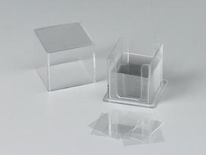 Deckgläser, Abmessung: 18 x 18 mm