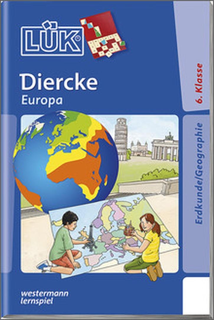 Lük-Heft Diercke Europa