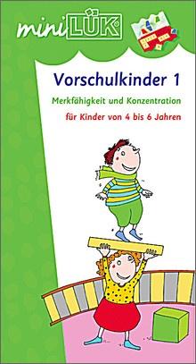 mini-Lük Heft Vorschulkinder 1