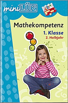 mini-Lük Heft Mathekompetenz, 1.Klasse 2.Halbjahr