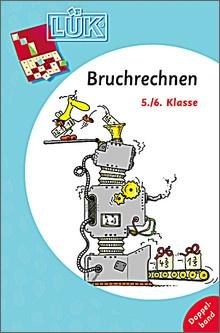 Lük-Heft Doppelband Bruchrechnen 5/6