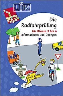 Lük-Heft Die Radfahrprüfung