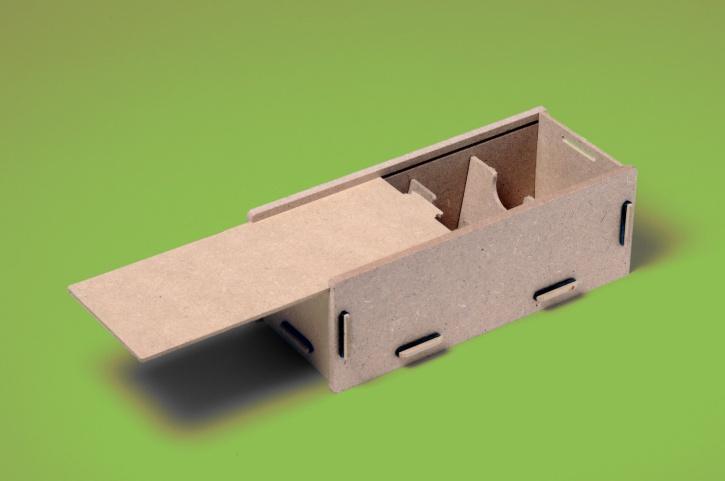 Holzlernbox, Bausatz für eine Lernbox aus Holz