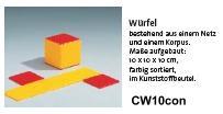 Clixi Würfel zum Bau eines Netzes