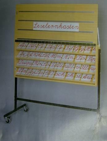 Leselernkasten als Tischmodell (ohne Untergestell)