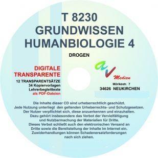 Digitale Folien auf CD - Humanbiologie 4 - Drogen