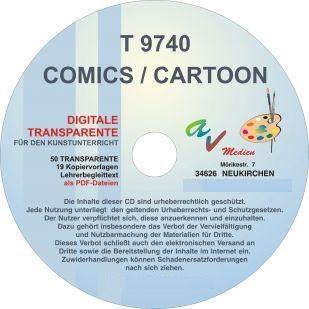 Digitale Folien auf CD - Comics / Cartoon