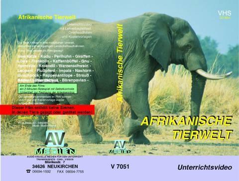 VHS-Video Afrikanische Tierwelt
