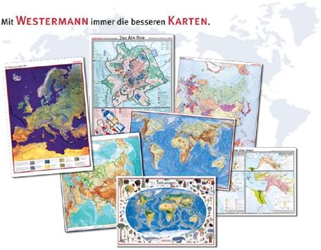 Handkarte (im 10er Set) Saarland, physisch/politisch