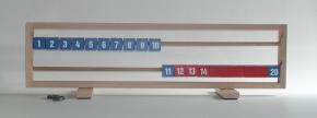 20er Tischrechenrahmen aus Holz