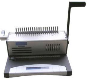 Stanz und Bindegerät für Plastikbindung, solides Schulgerät, Met