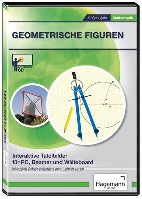 Interaktive Tafelbilder Geometrische Figuren, Schullizenz