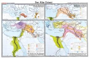 Wandkarte Der Alte Orient, 210x135 cm