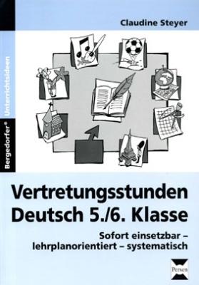 Vertretungsstunden Deutsch