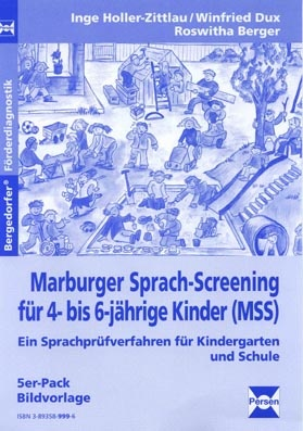 Marburger Sprach-Screening, Bildvorlagen