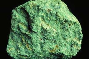 Trachyt, Gesteinsdünnschliff Dauerpräparat