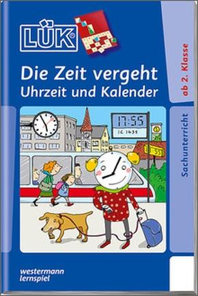 Lük-Heft Die Zeit, Uhrzeit, Kalender