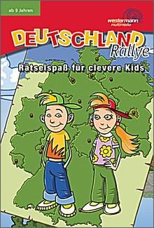 Lernspiele auf CD-Rom Deutschlandrallye, 5fach Lizenz, ab 9 Jahr