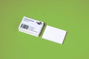 Karteikarten liniert (Set mit 100 Karten)