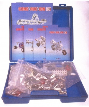 Metallbaukasten Construction C160, 682 Teile