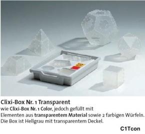 Clixi Box 1 Transparent, die Demo-Version für Lehrer
