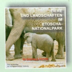 Lehrmittel-CD: Tiere und Landschaften im Etoscha-Nationalpark