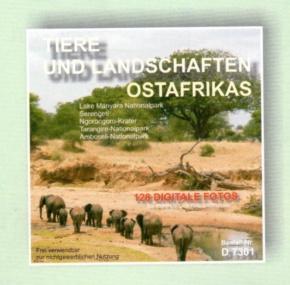 Foto-CD -Tiere und Landschaften Ostafrikas