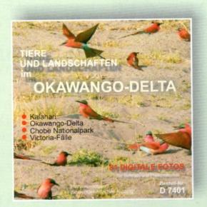Foto-CD -Tiere und Landschaften im Okawango-Delta