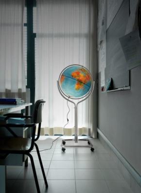 Großer Schul-Globus Ø 50 cm, Doppelbild